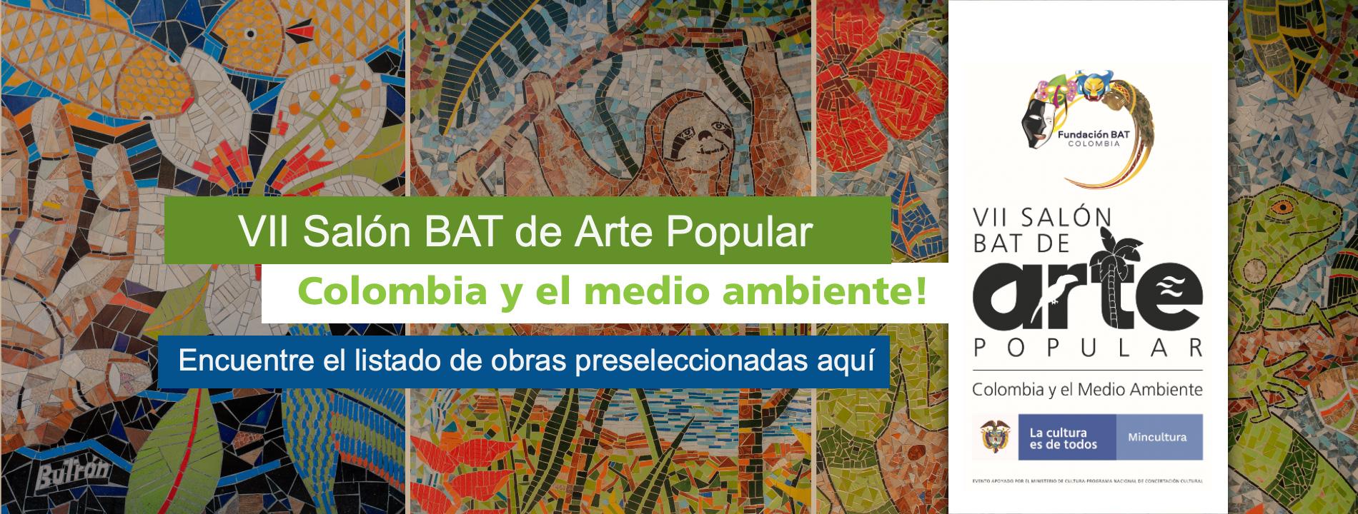 Obras preseleccionadas Vii Salón BAT Arte Popular