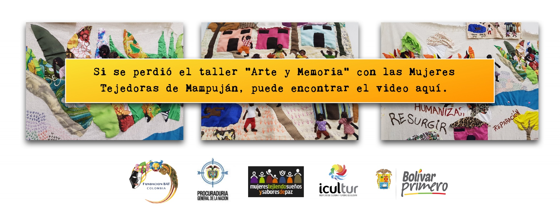 Taller tejedoras video
