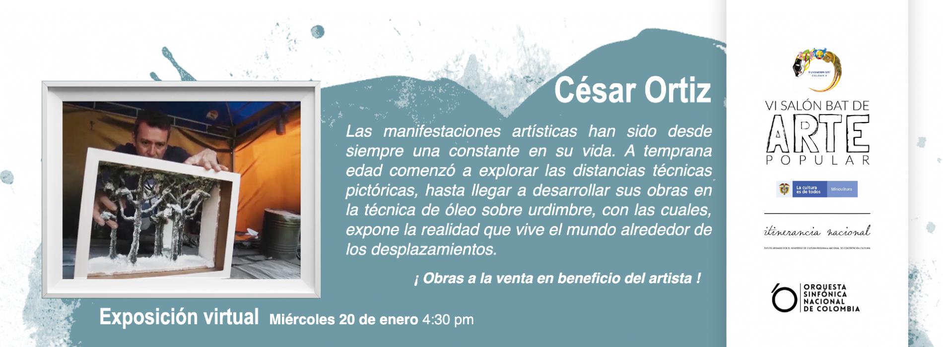 Exposición virtual César Ortíz