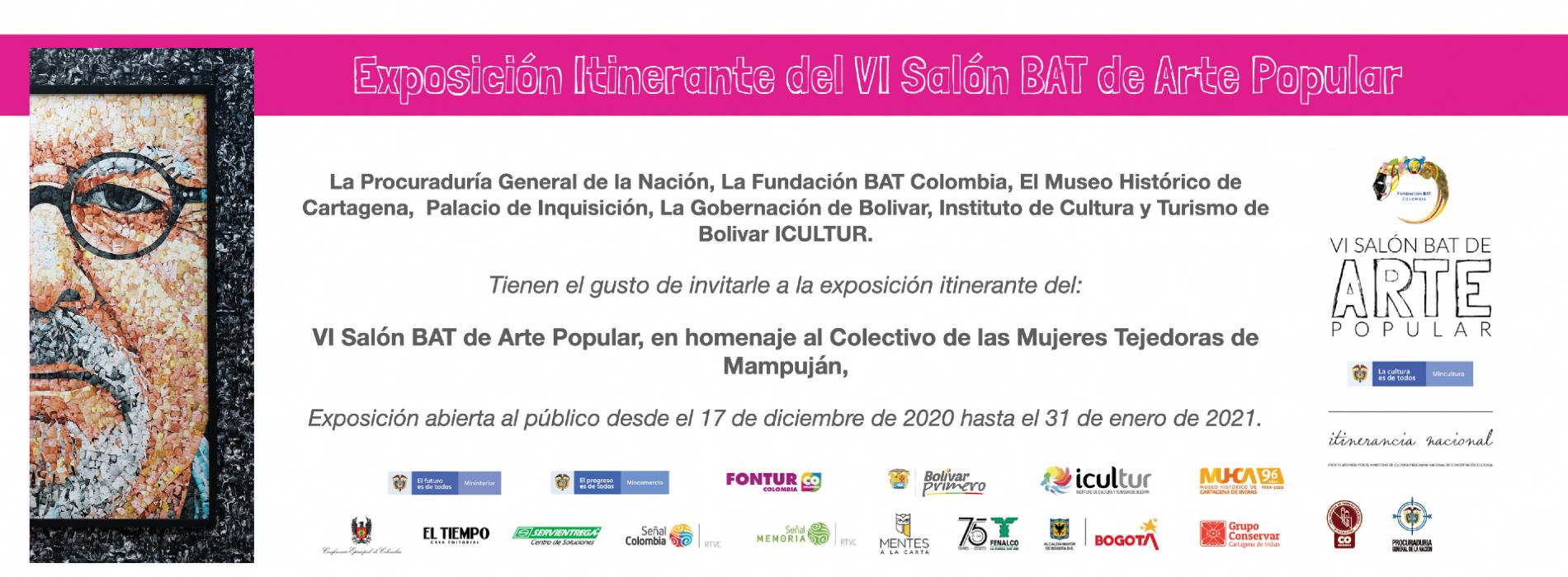 Invitación Exposición Cartagena