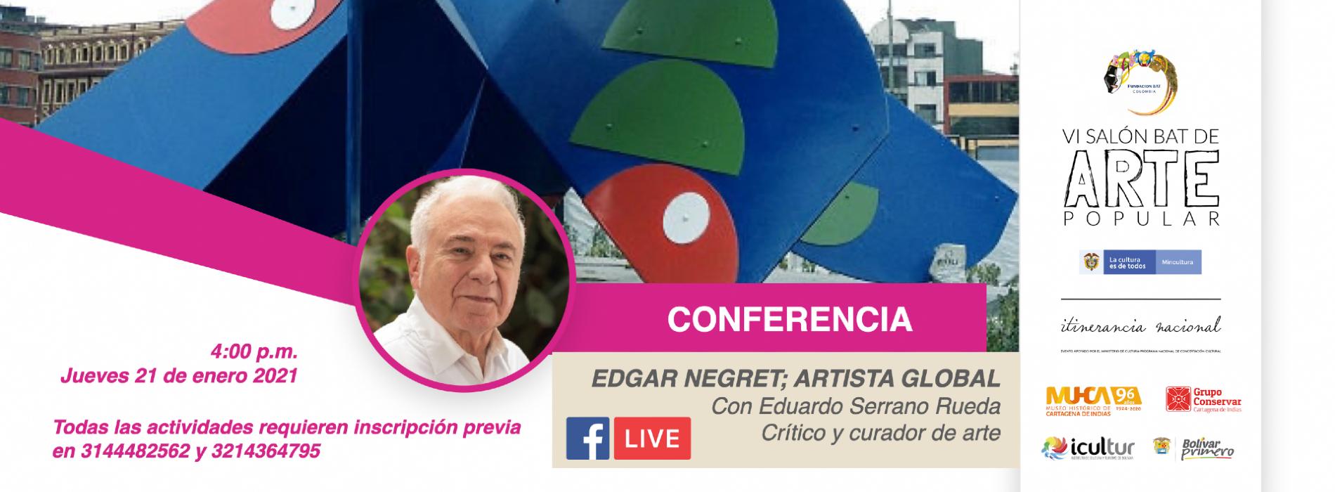 Exposición Edgar Negret
