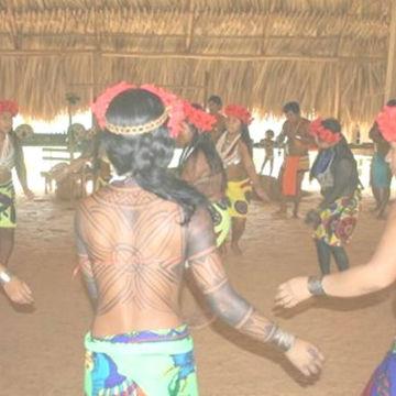Ceremonia del Tatsembuá (kuraka) o del Yagé