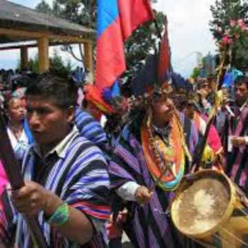 Carnaval del Perdon o del Arcoiris, comunidades inga y Kamentsa