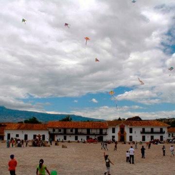 Festival del Viento y las Cometas en Villa De Leyva (Boyacá)