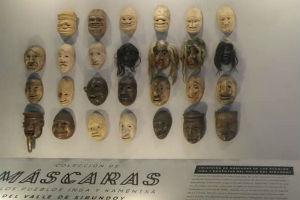 Colección Máscaras en Expoartesanías
