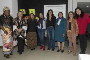 Auditorio Antonio Nariño: Las Mujeres del Arte Popular
