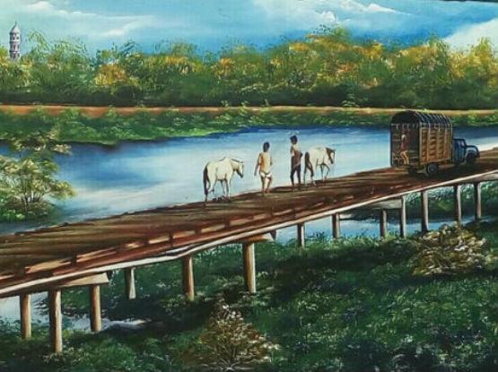 Obras seleccionadas en la exposición de Barranquilla 2019