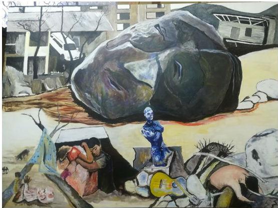 Obras seleccionadas en la exposición de Ibagué 2019